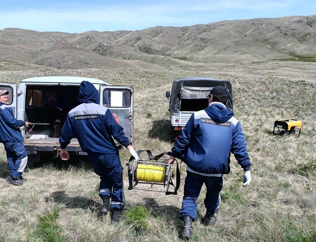 Казгеология начала полевые работы на участке Таёжное в Карагандинской области
