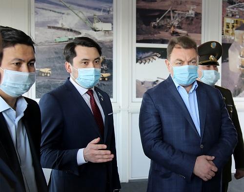 Министр ЧС РК Юрий Ильин дал высокую оценку работе «Богатырь Комир»